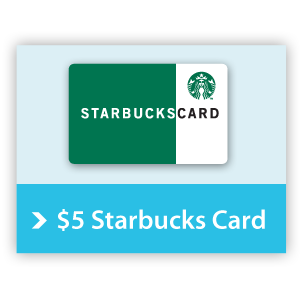 $5.00 Starbucks Card